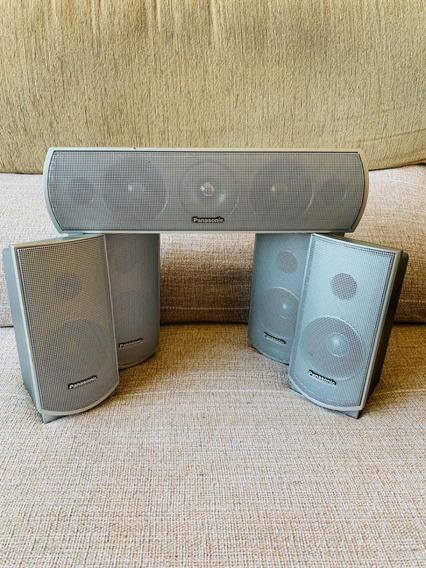 Conjunto De Caixas Acústicas Da Panasonic Para Home Theater