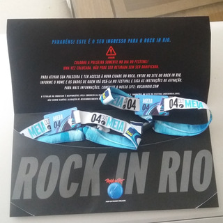 Dois Ingressos Rock In Rio - Dia 4 (iron Maiden)