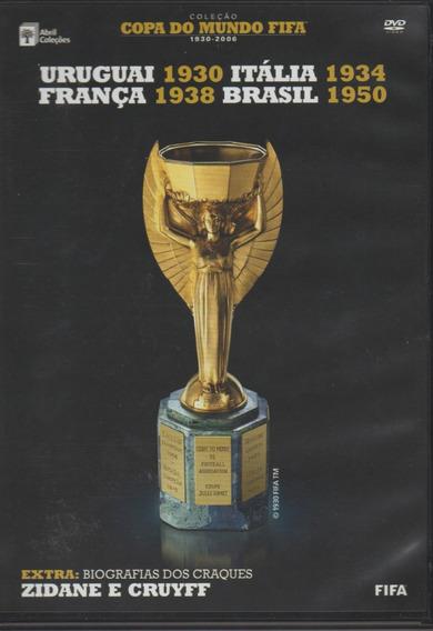 Coleção Copa Do Mundo Fifa 1930-2006 Box Com 15 Dvds