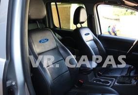 Capa Banco Carro Toda Em Couro Ecosport/ Focus/ Ka+