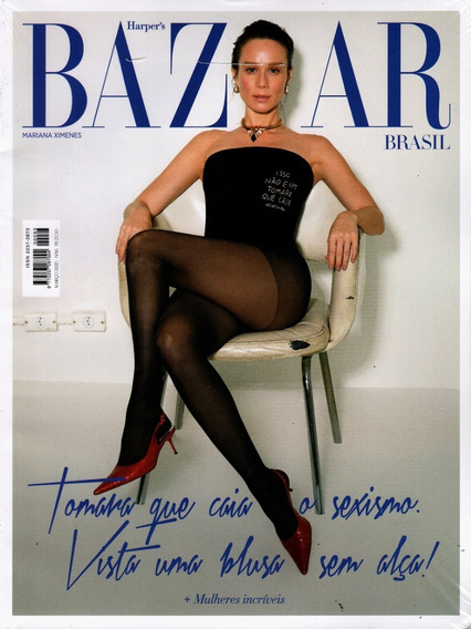 Harpers Bazaar Brasil Nº 093 - Mariana Ximenes