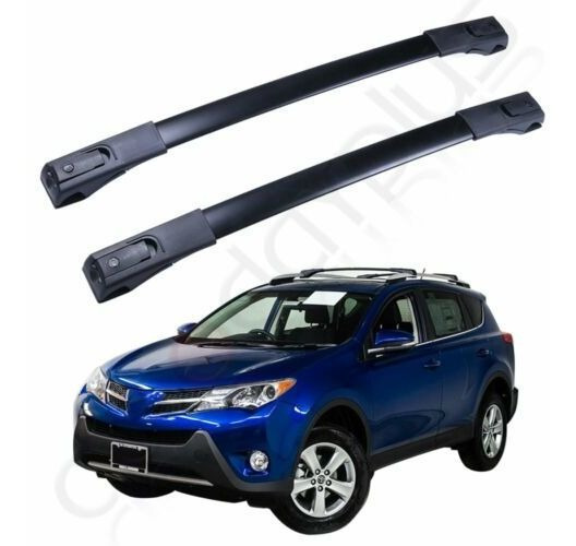 For 11-15 Ford Explorer Aluminum Black Car Roof Top Cross Bar Luggage Cargo Rack