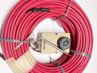 Cable Calefactor Cañerías Tuberías 4,50 Mts + Termostato
