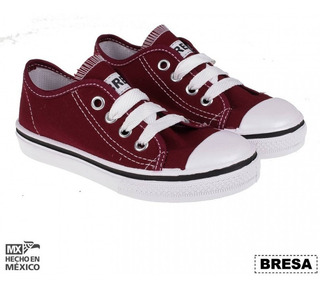 Tenis Tipo Converse Vino Mujer Hombre Choclo M860