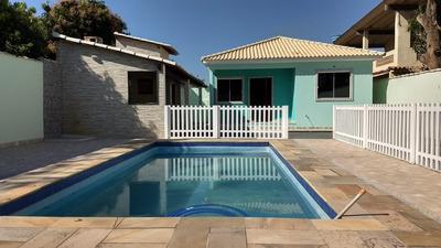 Casa Em Itaipuaçu 3 Quartos, Piscina E Churrasqueira - 416