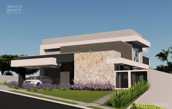 Casa Com 3 Dormitórios À Venda, 314 M² Por R$ 1.670.000 - Condomínio Campo De Toscana - Vinhedo/sp - Ca1203