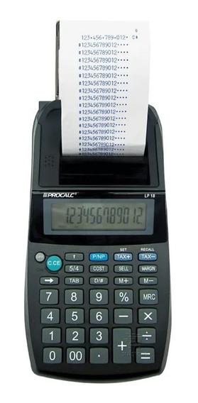 Calculadora Impressão Bobina 12 Digitos Semi Profissional Ac