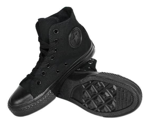 Converse Taylor Black Monochrome M3310 Unisex 8 Men 10 Women