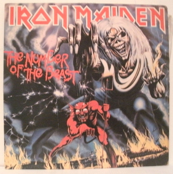 Iron Maiden - The Number Of The Beast - Vinil Usado