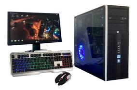 Pc Gamer Barata Completa Hp Pro Intel+amd Lol Y Fornite Wifi