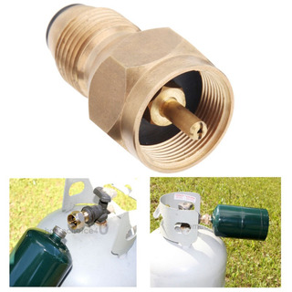 Recarga Adaptador Lp Gas Cilindro Tanque Acoplador