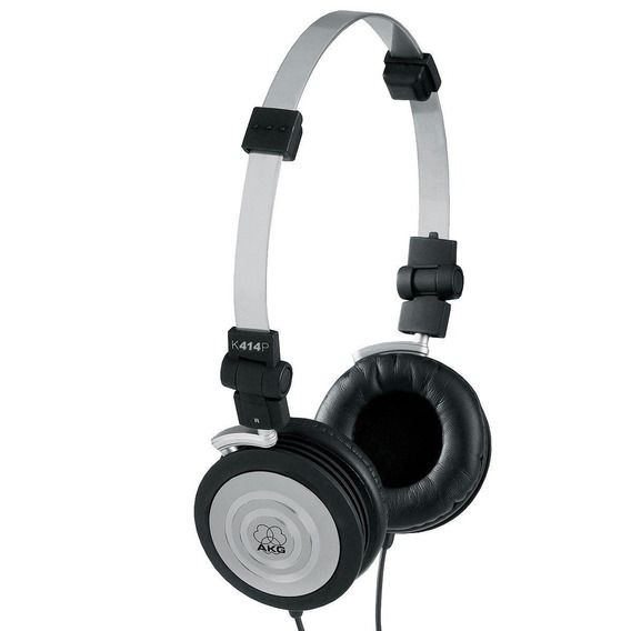 Fone De Ouvido Akg K404 Novo On Ear Preto Headphone
