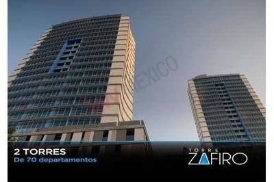 Excelente Penthouse En Renta Amueblado Torre Zafiro A 500m De San Pedro