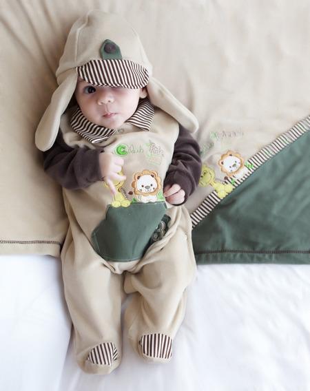 Saida Maternidade Bebe Menino Animais