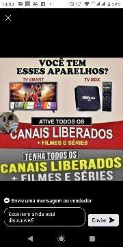 Recarga De Aparelho Tv Box.