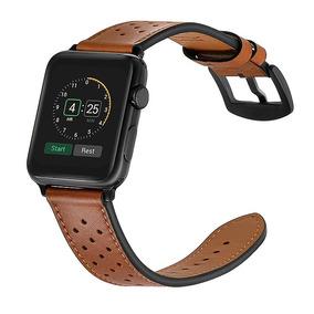 Pulseira Apple Watch Couro Ou Metal Com Detalhes (leia)