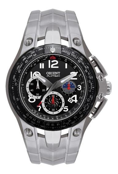 Relógio Orient Masculino Flytech Mbttc002 Titanium Oferta
