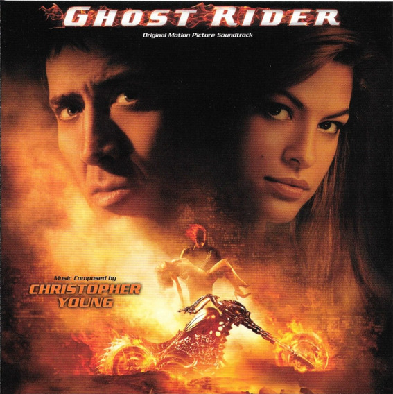 Christopher Young Ghost Rider - Bso Cd Ed Japonesa Con Obi