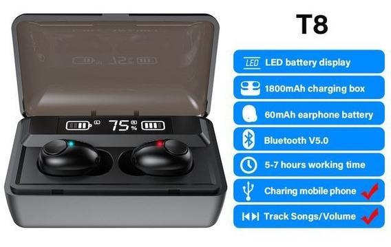Fone De Ouvido Dacom T8 Display Power1200mah /canc De Ruído