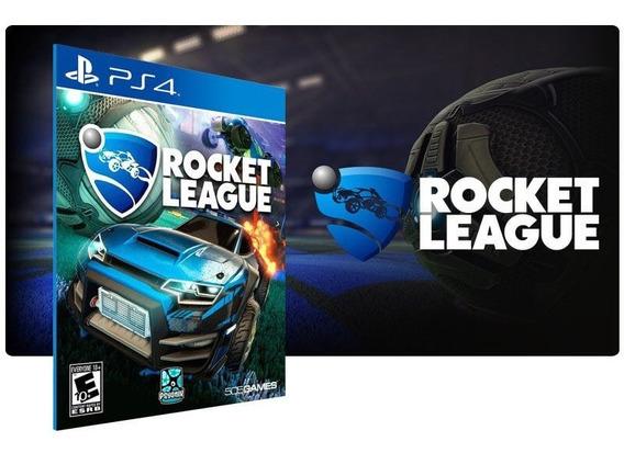 Rocket League Ps4 Digital Psn Vitalício Promoção