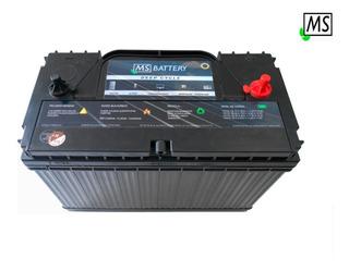 Bateria Solar 120ah 12v Ms-solar Lth Cale Panel Deep Cycle