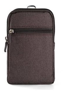 Universal Lona Cintura Pack Clip Clip Para Zte Nubia Z17 / Z