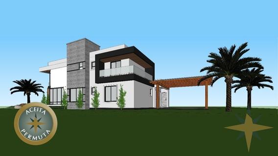 Aceita Permuta! Residência Alto Padrão - Entrada E Parcelamento Durante A Obra A Direto Com O Construtor. - 455 - 32463506
