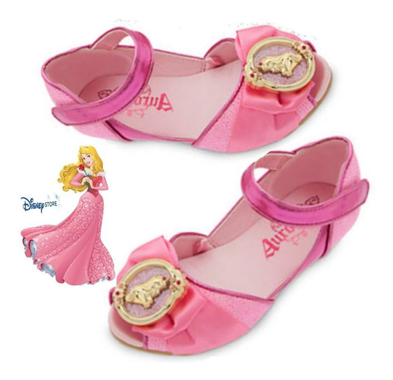 *sapato Princesa Aurora Original Da Disney Store P/entrega