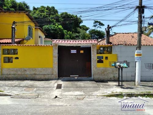 Imagem 1 de 10 de Casa Com 2 Dormitórios À Venda, 49 M² Por R$ 180.000,00 - Jardim Primavera - Duque De Caxias/rj - Ca0336