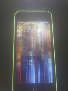 iPhone 5c 16g A1507 - Com Defeito Tela Nao Sei Icloud Ta Lim