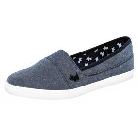 Zapato De Piso Dama Ferrioni H4001m Mezclilla 22-25 66806 T3