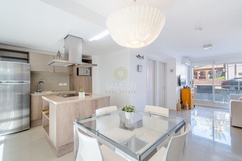 Oportunidad Apartamento Moderno Con Piscina Gala Puerto Punta Del Este- Ref: 63656
