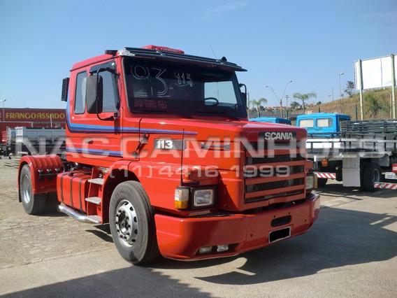 Scania T 113 320 4x2 Ano 1993 Com Kit Ecológico 360
