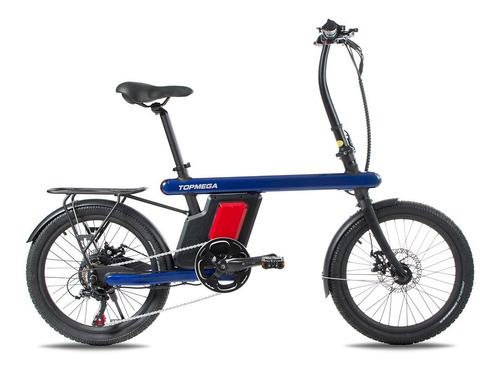 Bicicleta Eléctrica Topmega Plegable