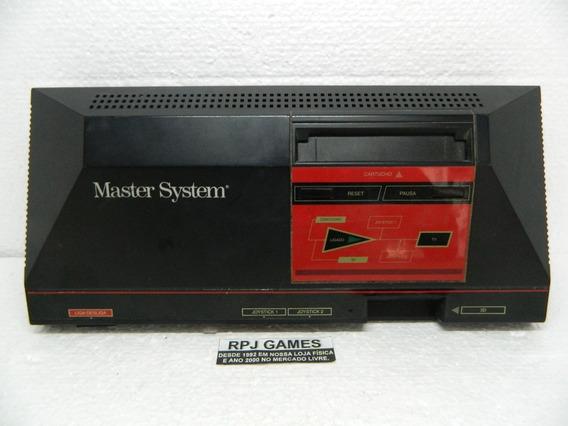Master System Somente O Console - Funcionando - Loja Rj