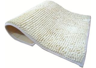 Alfombra Felpudo Baño Antideslizante Silk Amarillo 40x60cm