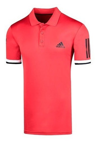 Playera adidas Club Polo Cd6669 Rojo Negro Pv