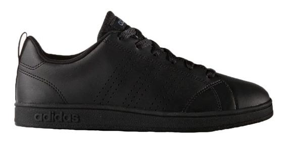 Zapatillas adidas Advantage Clean K Niños Escolar Bco Negro
