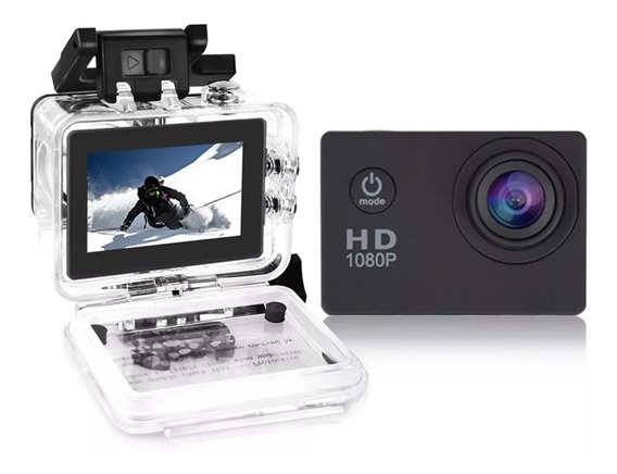 Mini Câmera Filmadora Sports Hd 720p Aprov D
