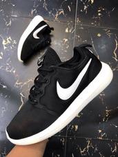 a45db68402efd ... 2017 Envio Gratis · Tenis Zapatillas Nike Roshe Two Negra Blanca Hombre  Mujer