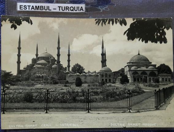 Antigua Postal De De Estambul Turquía