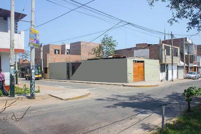 Se Vende Casa En Esquina Y Avenida, San Juan De Miraflores