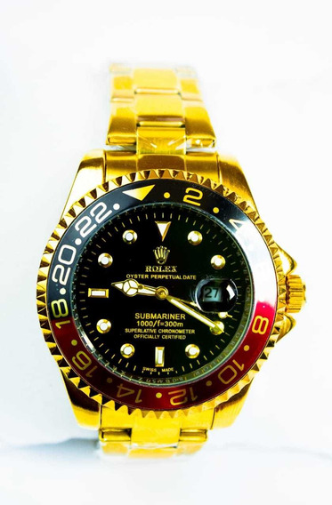 Relógio Rlx Masculino Luxo Aço Inox Social Casual
