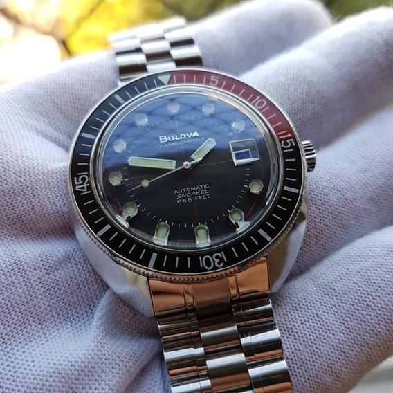 Relógio Bulova Devil Diver 98b320 Em Ótimo Estado