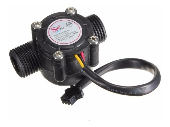 Caudalimetro Sensor Flujo Agua Líquido 1 A 30 L/min Arduino