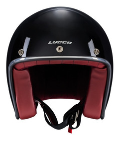 Capacete Lucca New Glossy Black + 2 Bolhas + Flip + Pala