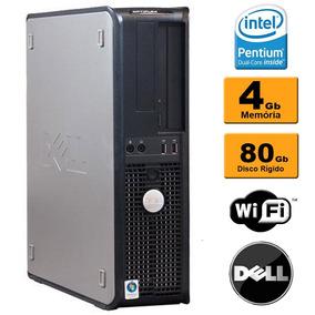 Pc Cpu Desktop Pc Dell Optiplex Core 2 Duo 4gb Hd 80gb Wifi