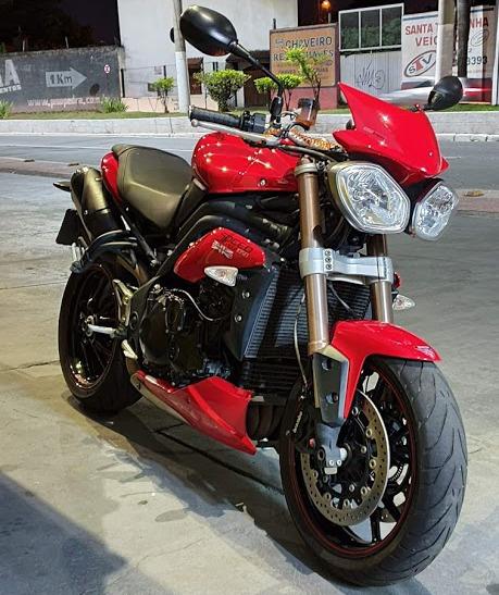 Triumph Speed Triple 1050 Melhor Que Honda Yamaha Kawasaki