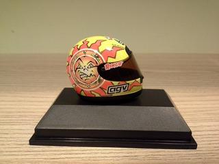 Miniatura Capacete Valentino Rossi 46 Gp 125 1997 1:8 Usado