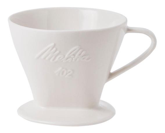 Suporte Para Filtro De Porcelana 102 Melitta - Cor Branco